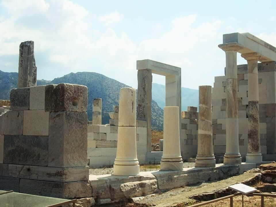 Delos was a holy island in ancient Greece