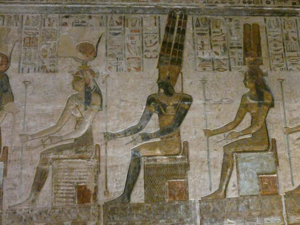 egyptian ancient paintings