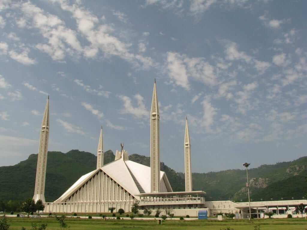 faisal mosque pakistan