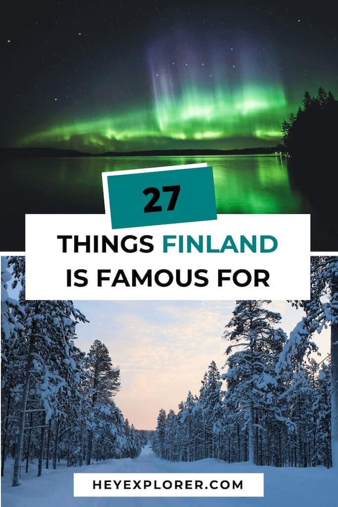 finland is famous for what