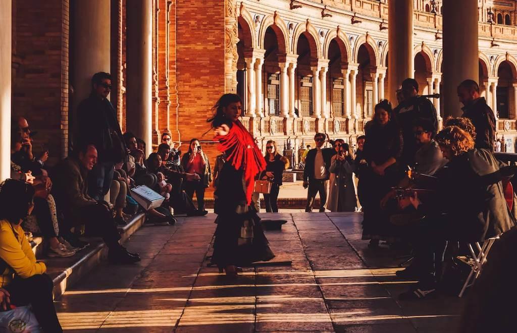 flamenco street dancer