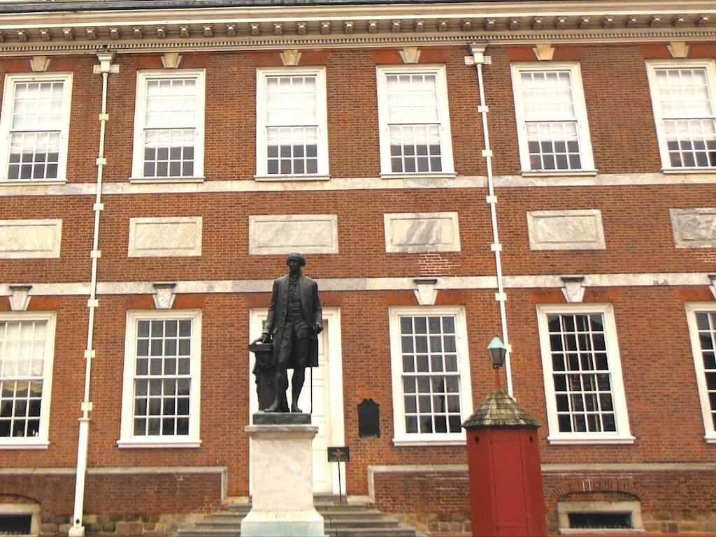 george washington independence hall