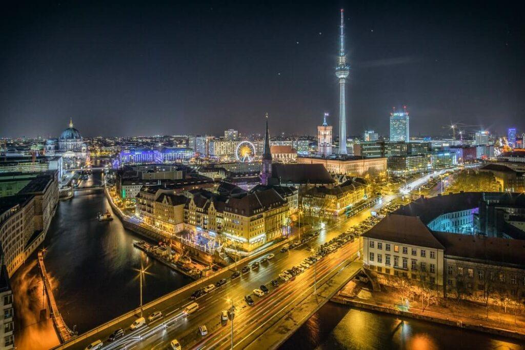 germany city night