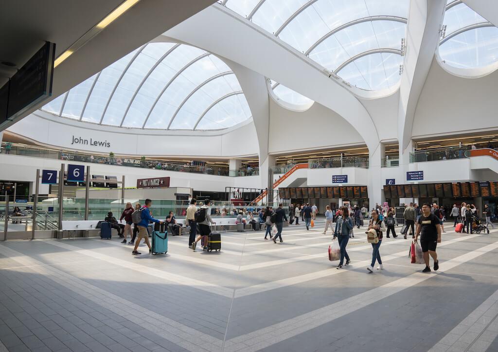Grand Central New Street Station in Birmingham