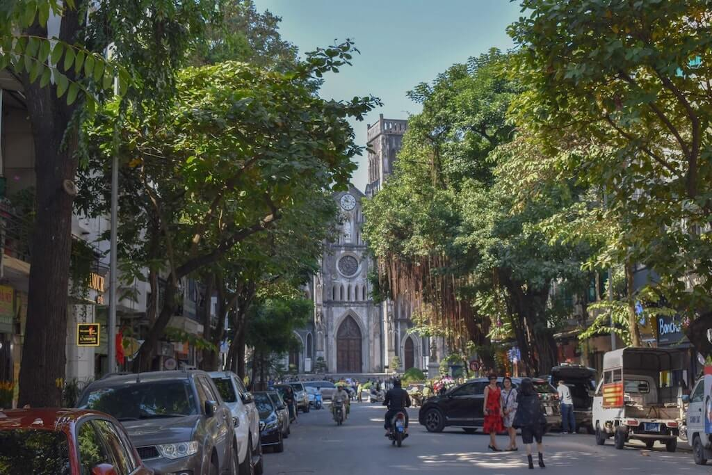 Hanoi is known as the Paris of the East
