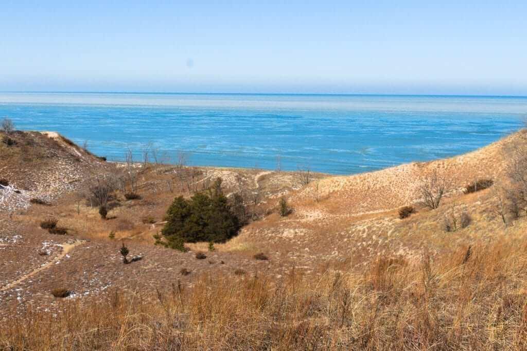indiana dunes sand lake