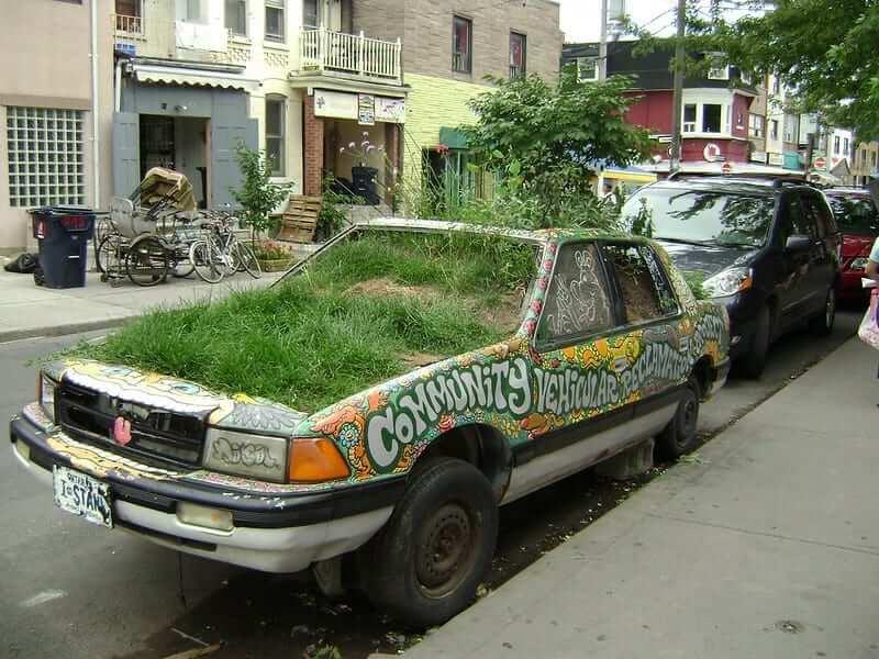 kensington market garden car