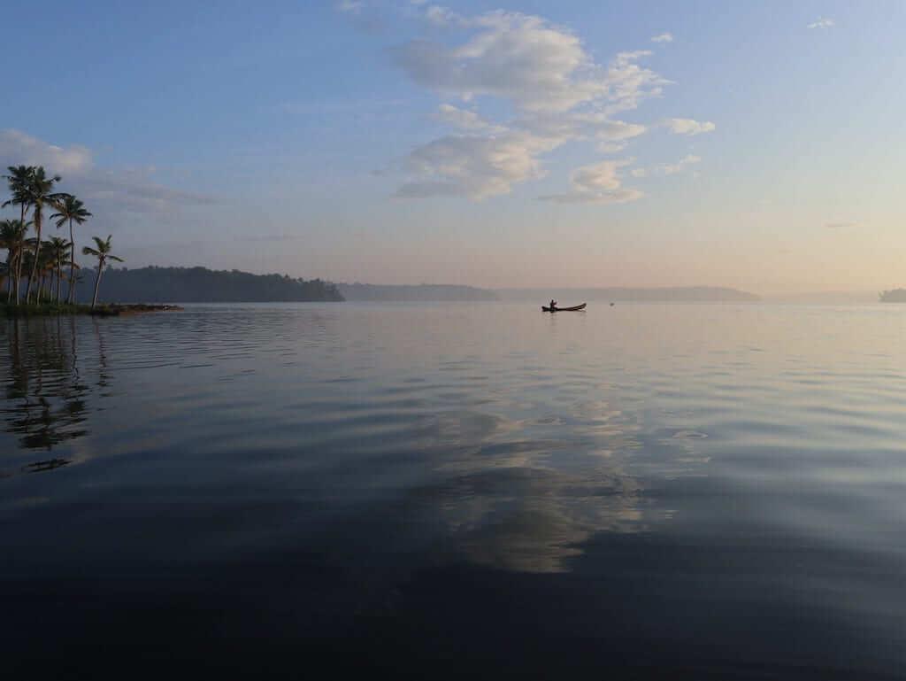 kerala calm lake
