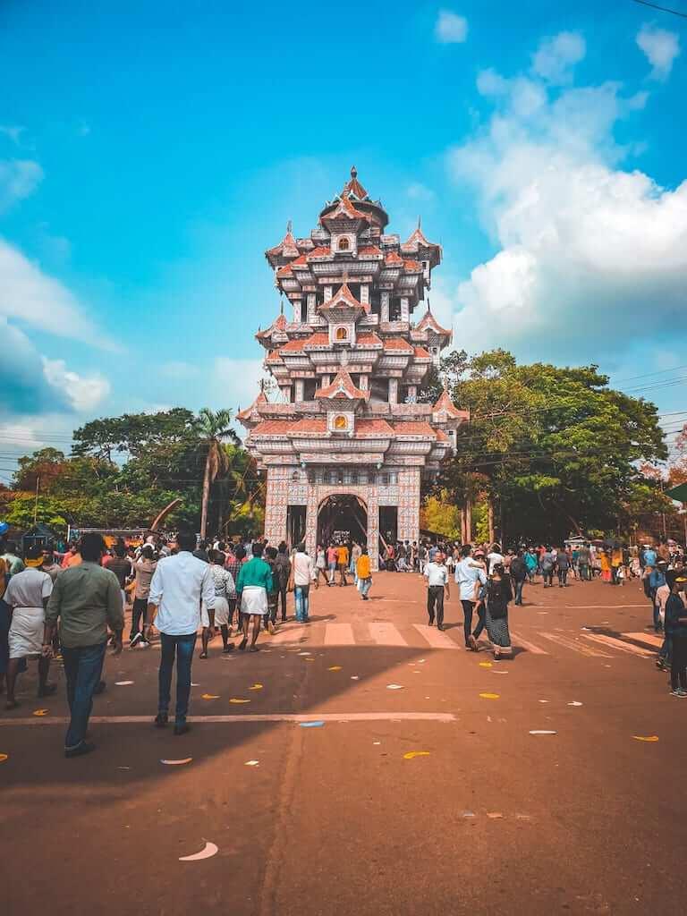 kerala temple architecture