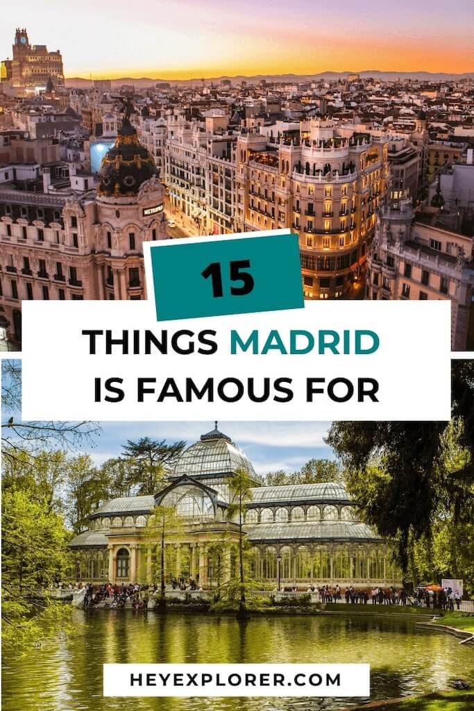 madrid famous for what