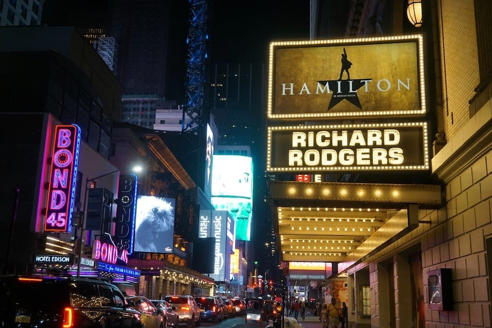 What New York is Famous For: Broadway