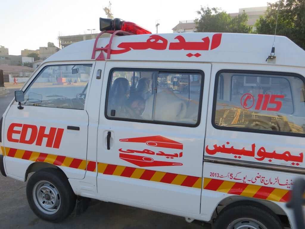 pakistan ambulance