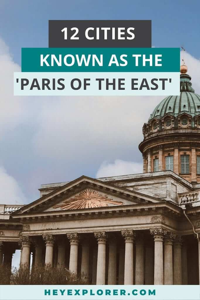 paris of the east cities