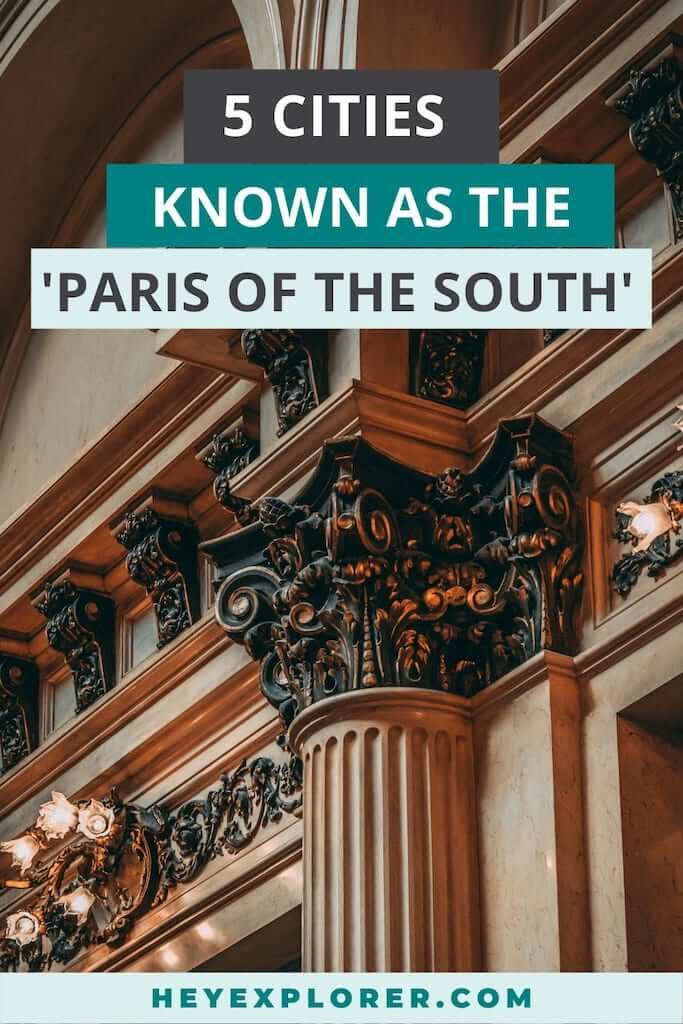 paris of the south cities