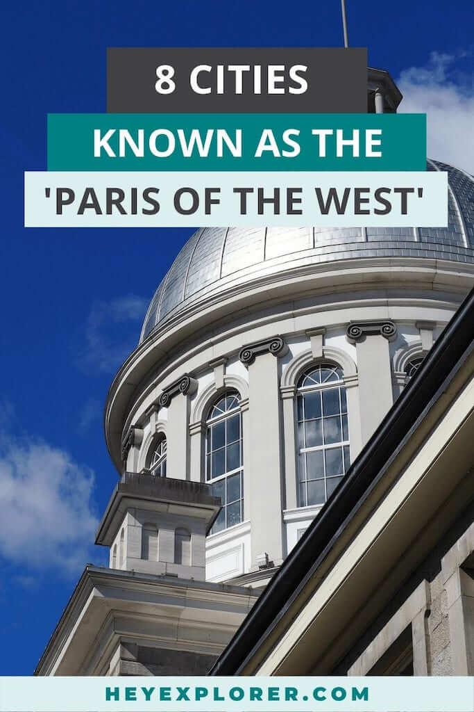 paris of the west cities