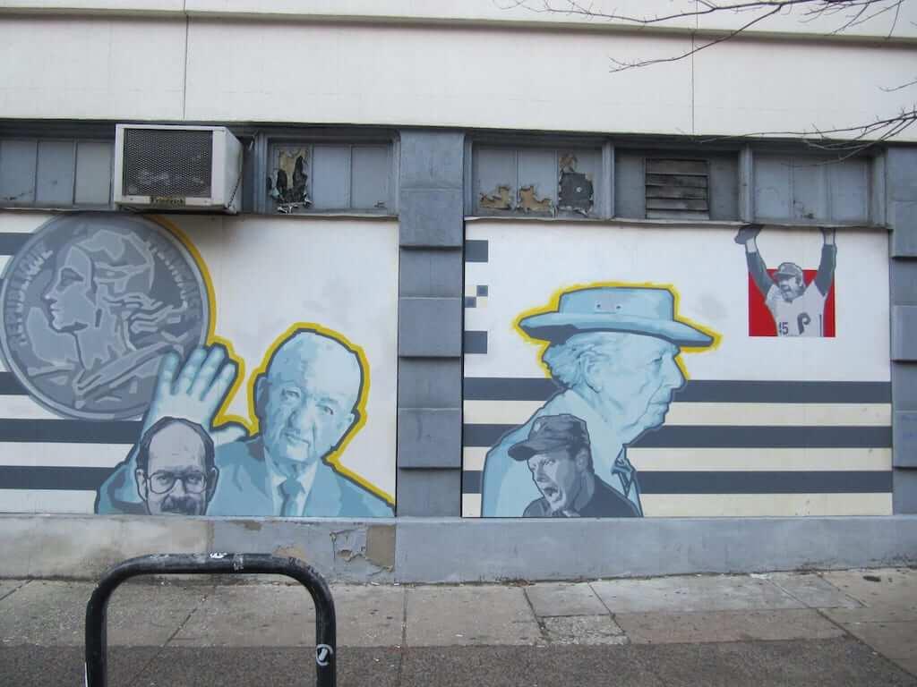 philadelphia franks mural