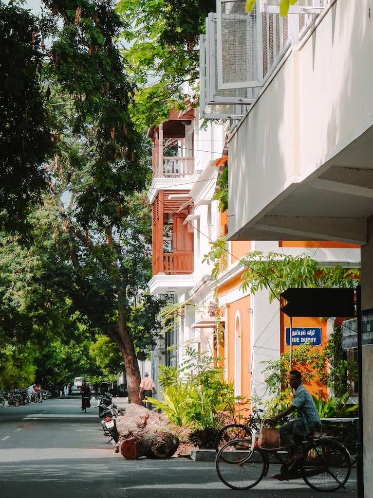 Pondicherry is known as Paris of the East