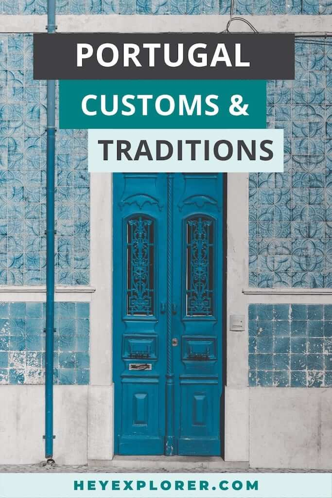 portugal customs traditions