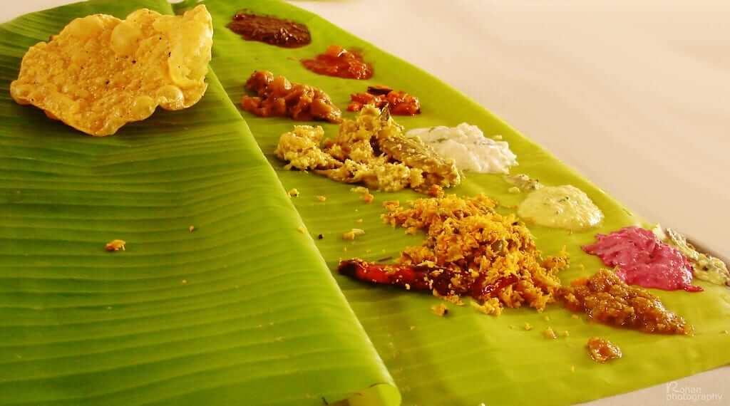 sadya indian food
