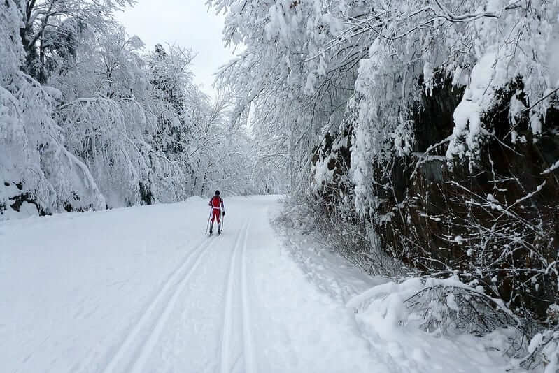 skiing gatineau park