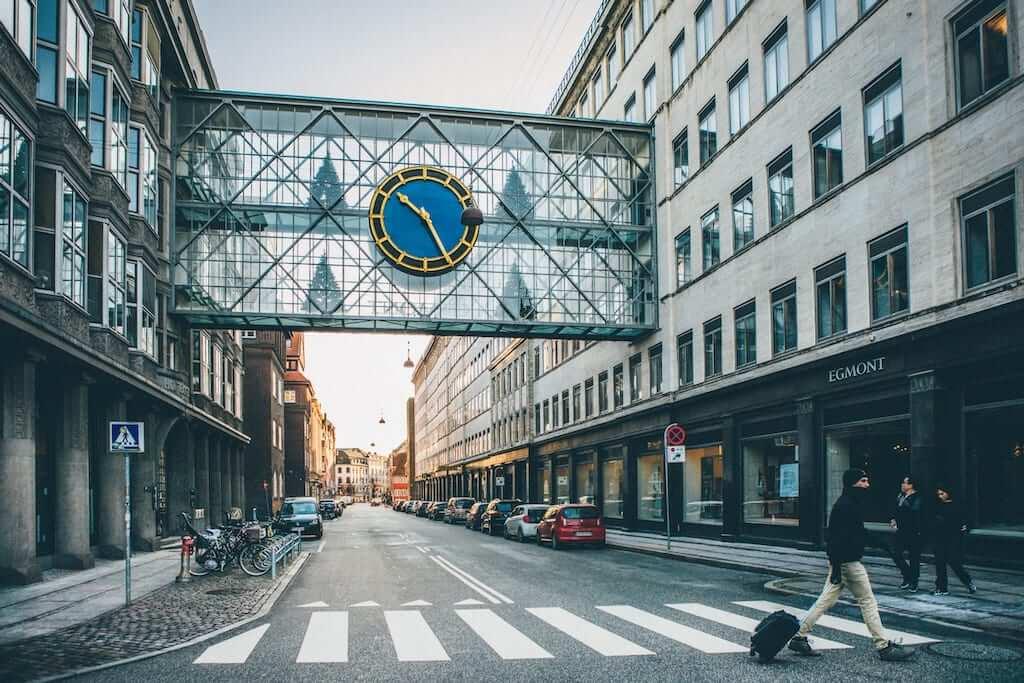 street crossing copenhagen