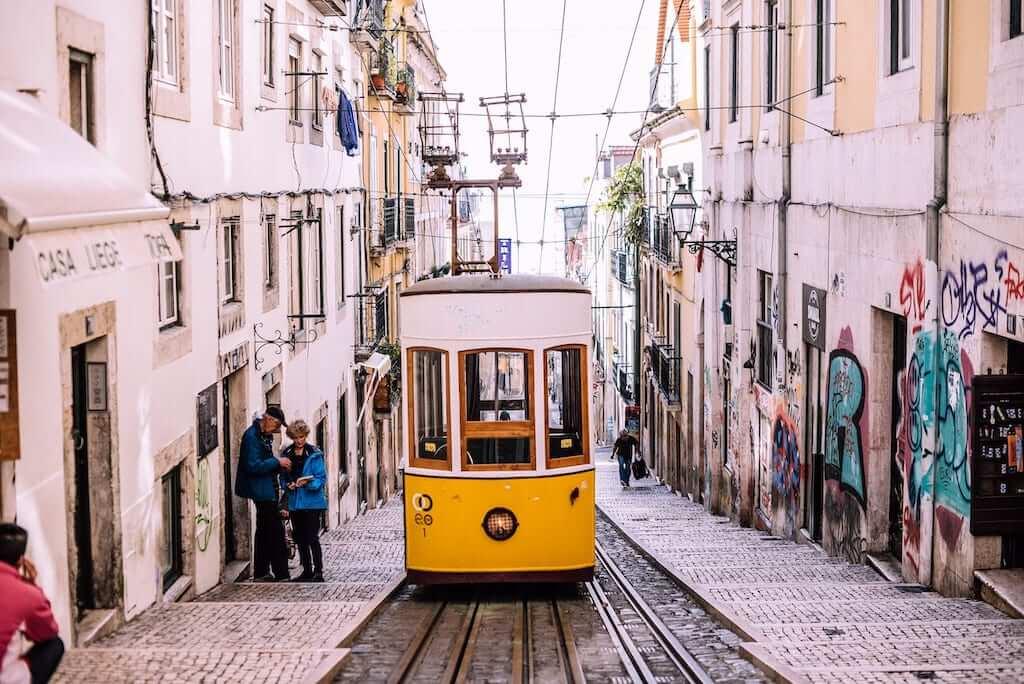 street tram lisbon