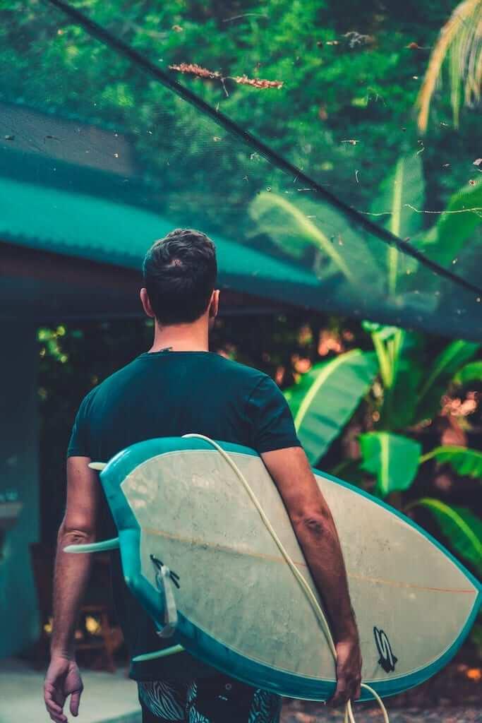 surfboard surfer