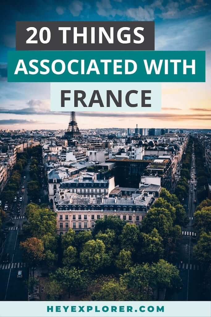 things associated with france