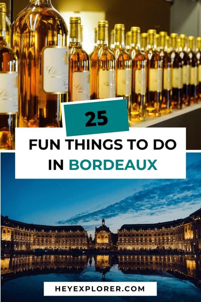 things to do bordeaux