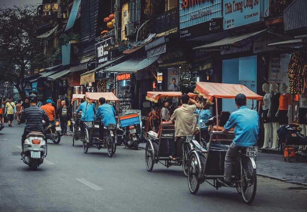 tricycles vietnam