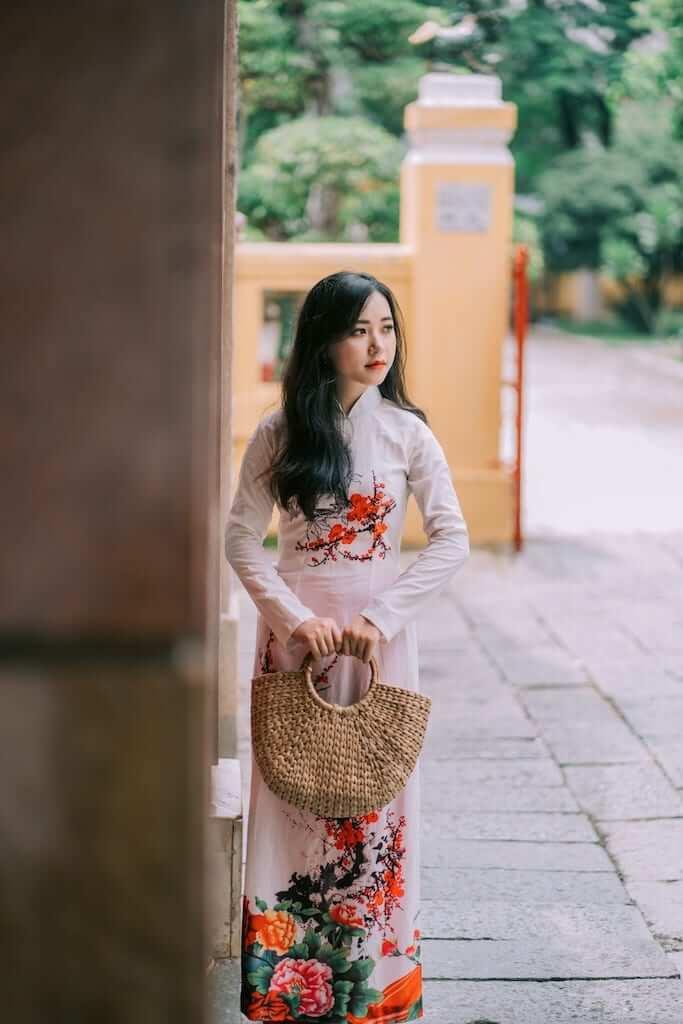 vietnam girl ao dai