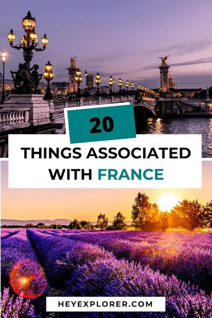 what france is associated with