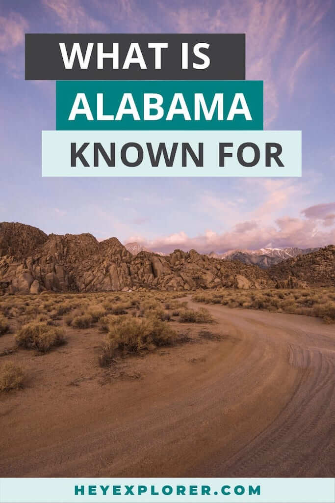 what is alabama known for