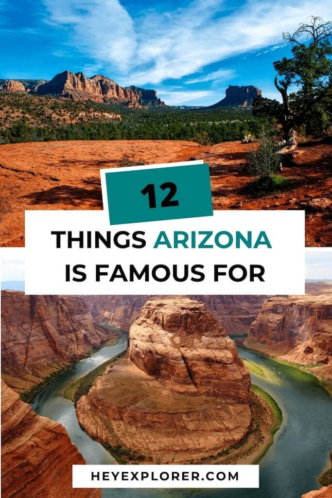 what is arizona famous for
