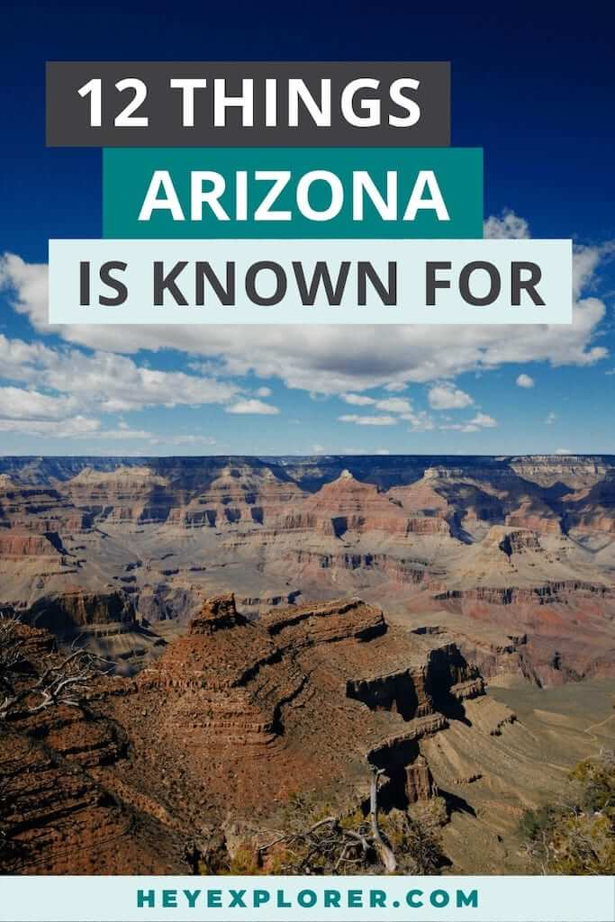 what is arizona known for