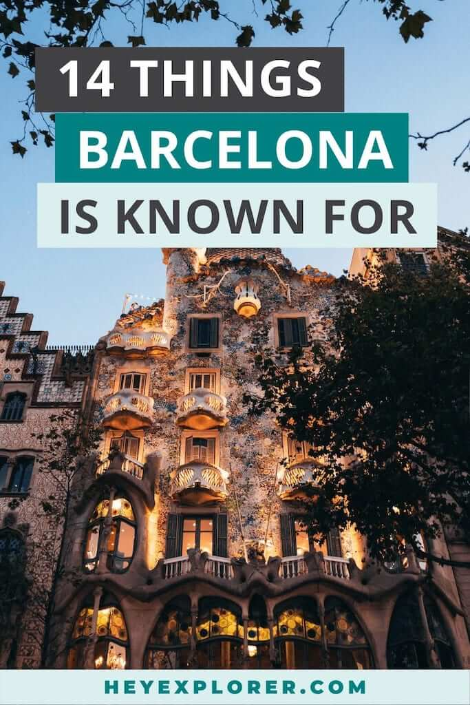 what is barcelona known for
