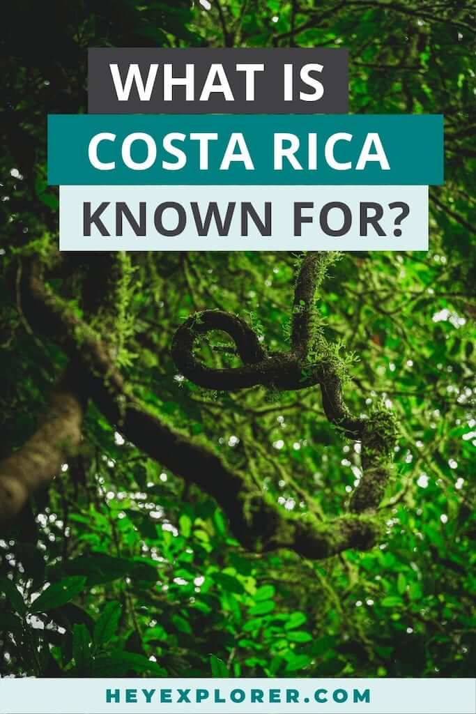 what is costa rica known for
