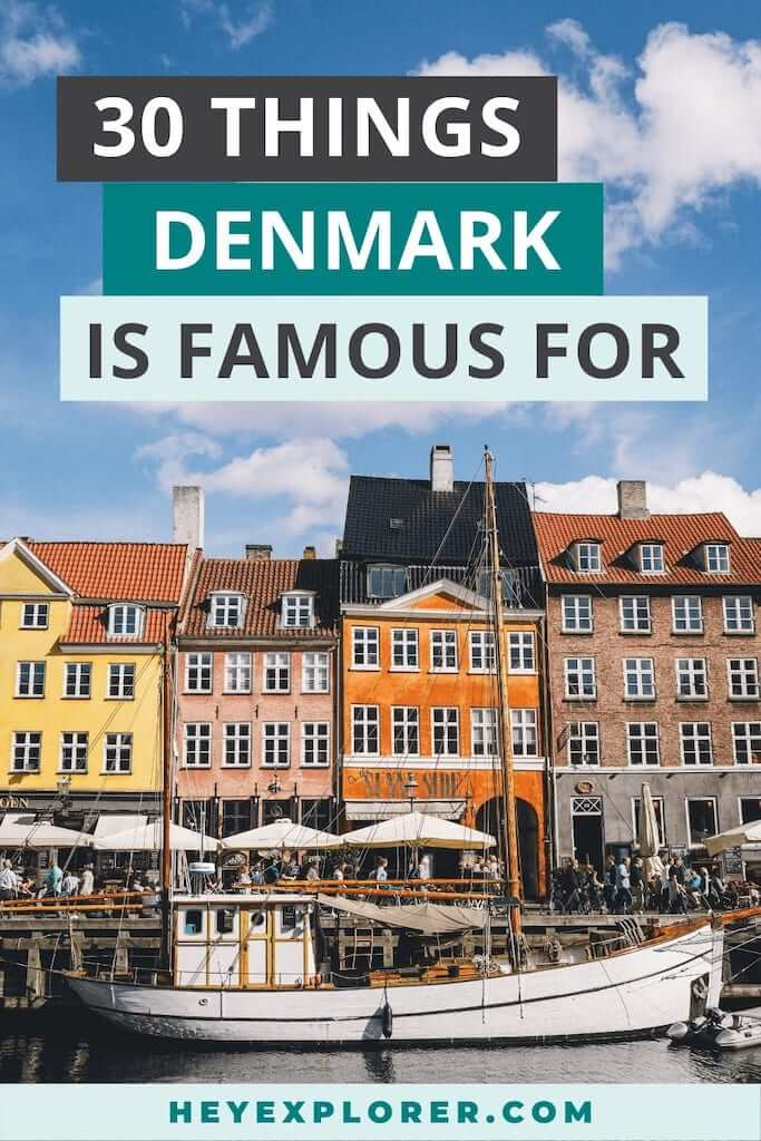 what is denmark famous for