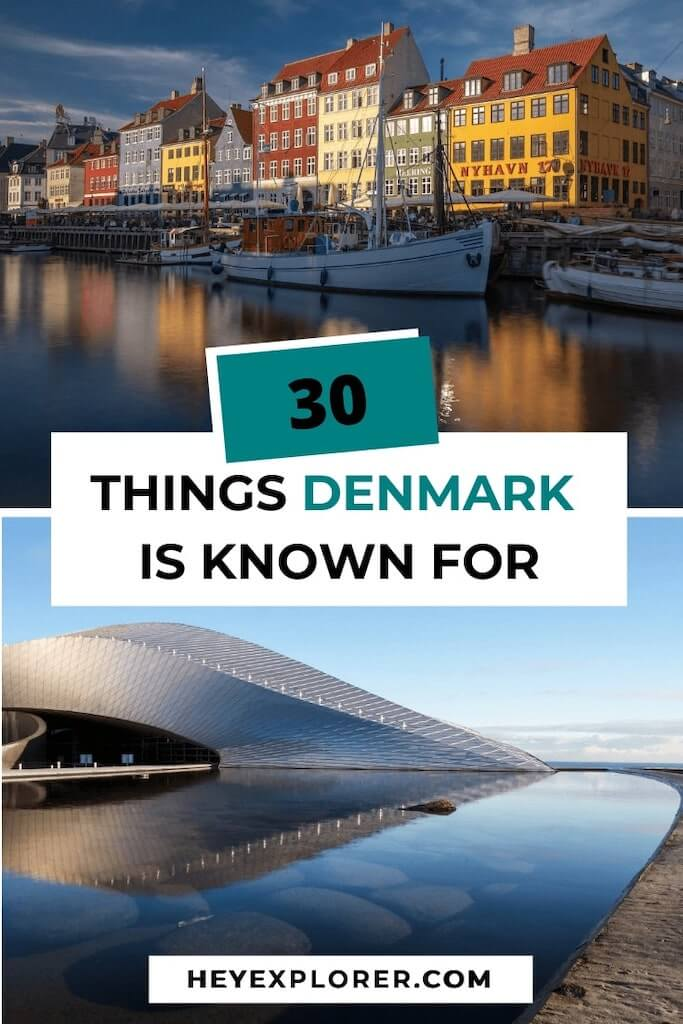 what is denmark known for
