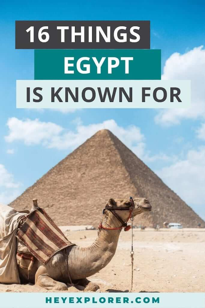 what is egypt known for