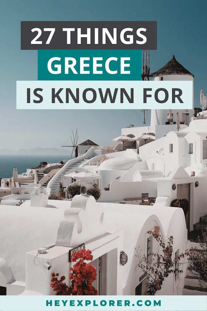 what is greece known for