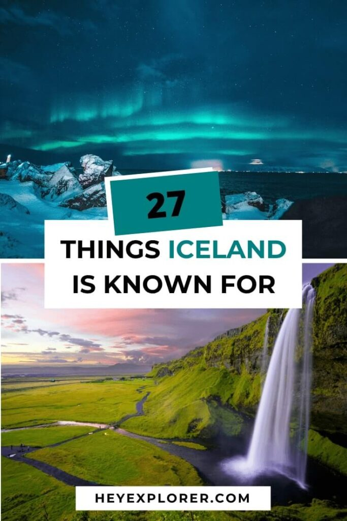 what is iceland known for