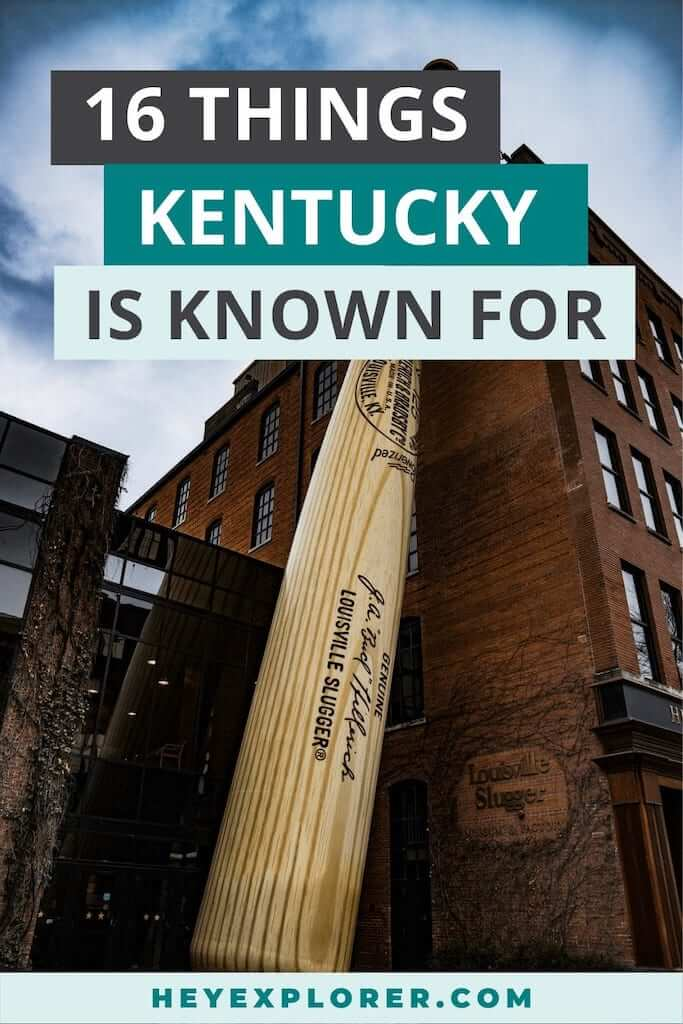 what is kentucky known for