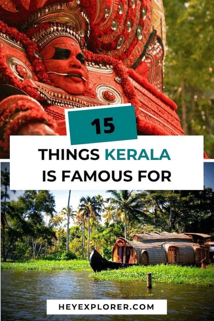 what is kerala famous for