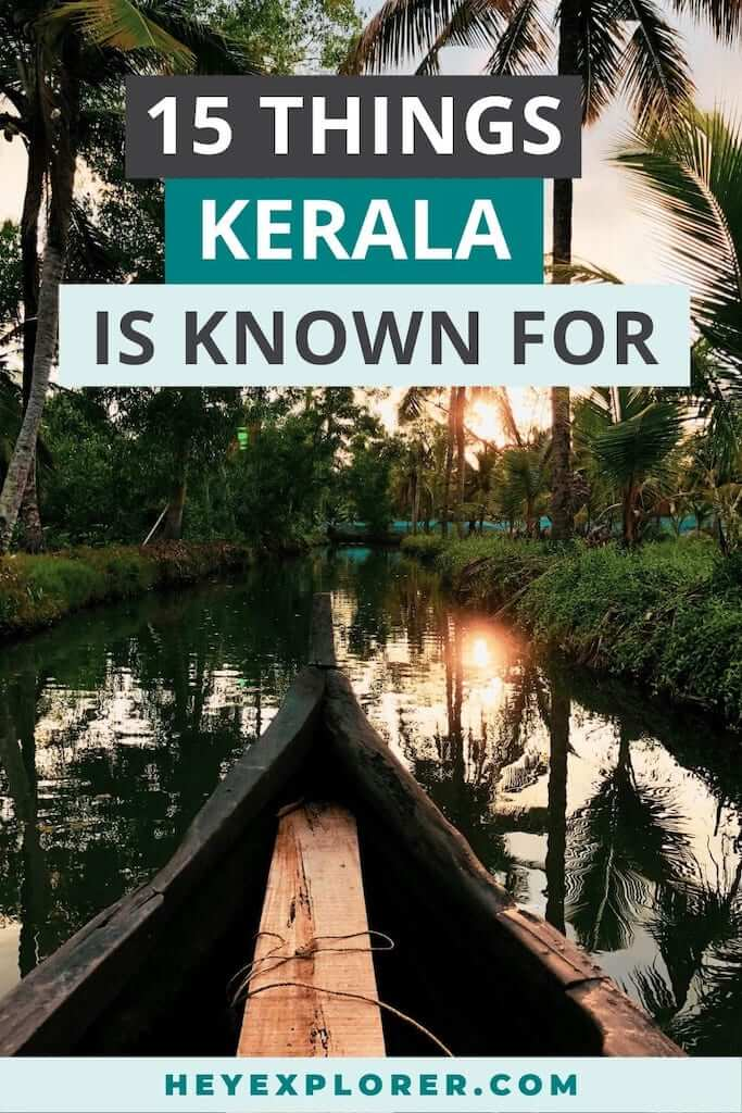 what is kerala known for