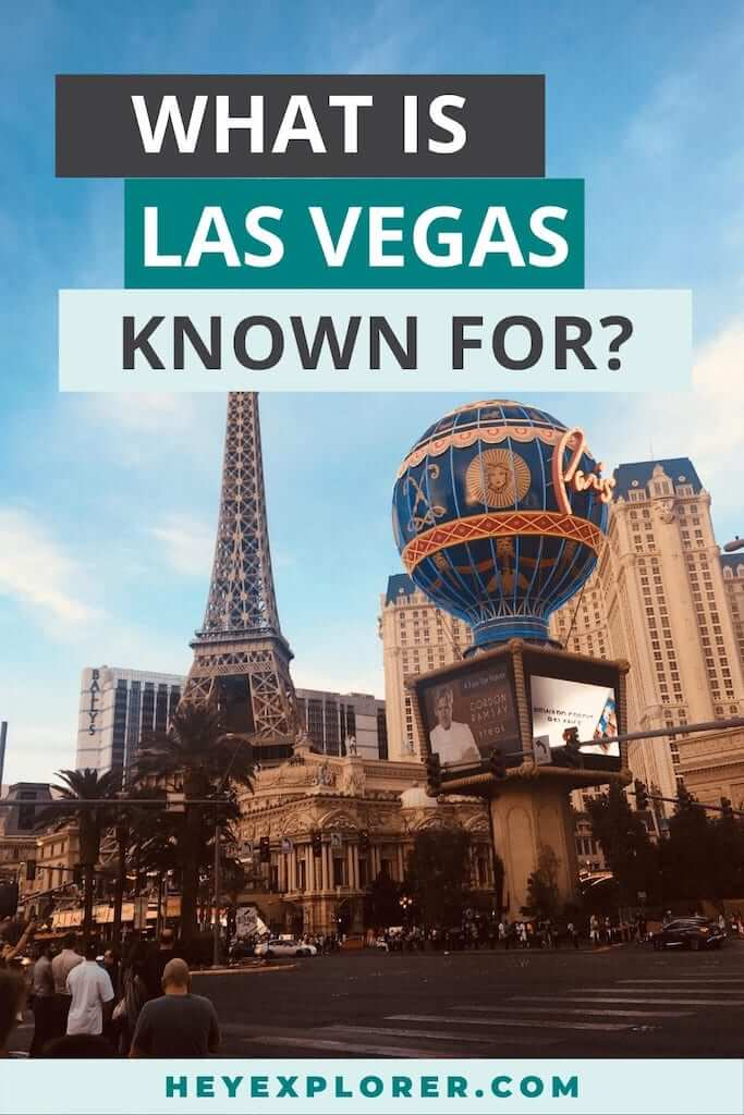 what is las vegas known for