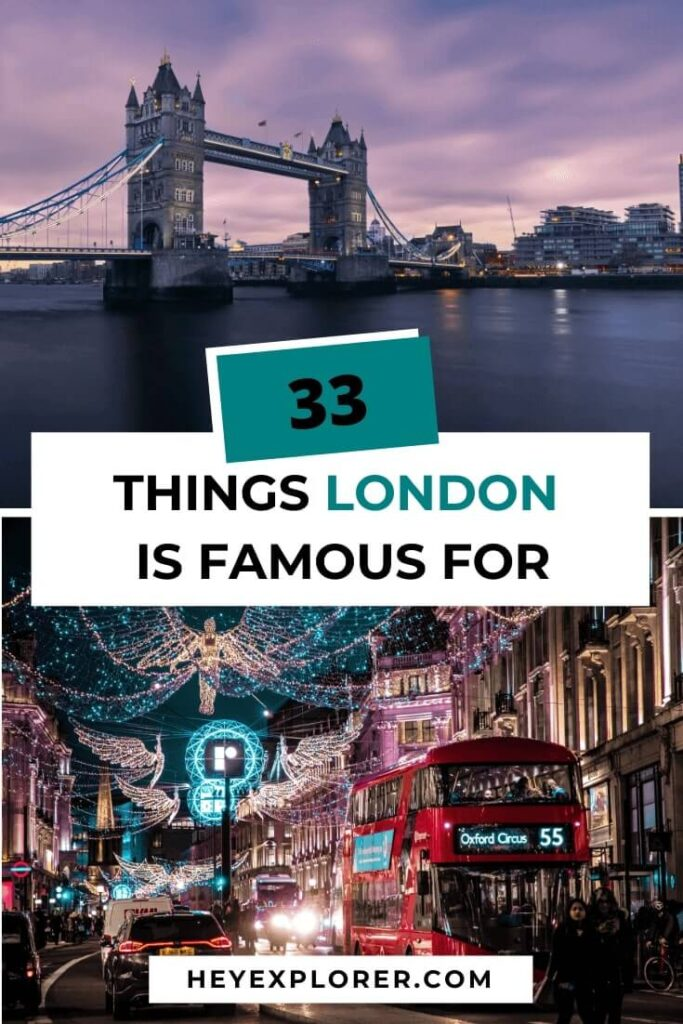 what is london known for
