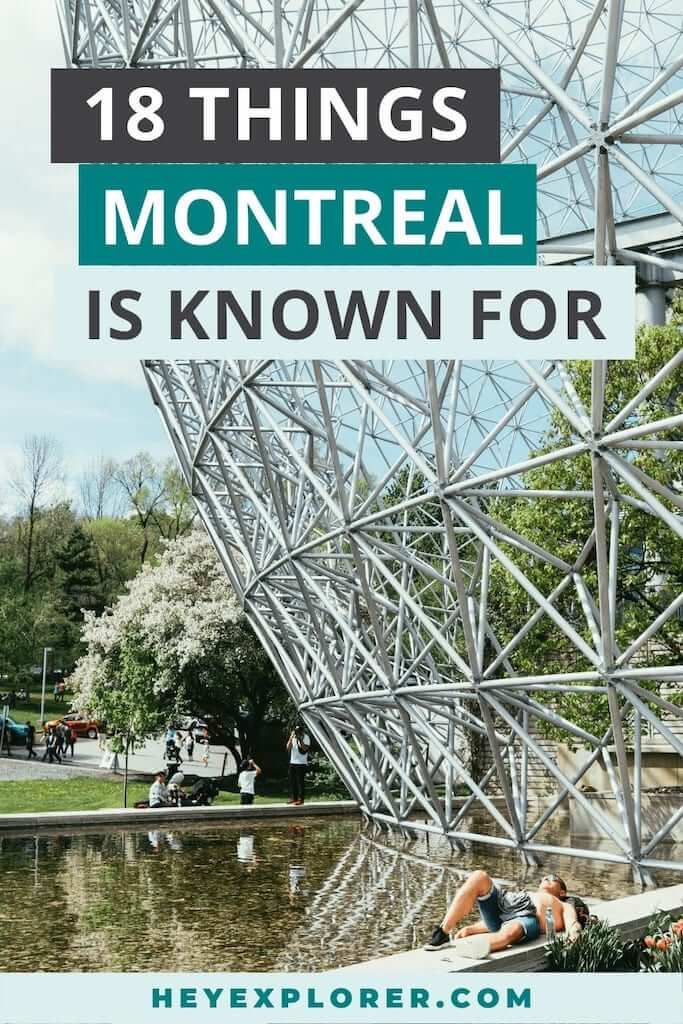 what is montreal known for