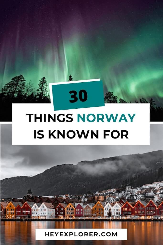 what is norway known for