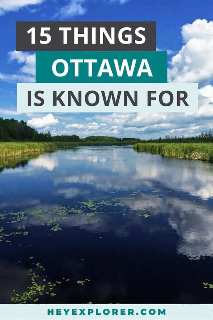 what is ottawa known for